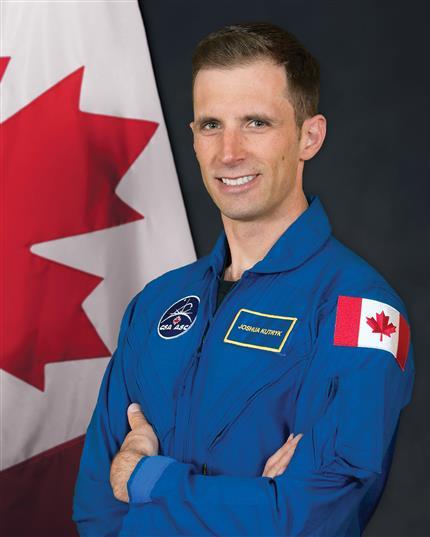 Canadian astronaut, Joshua Kutryk